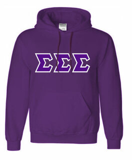 Sorority Lettered Twill Shirts