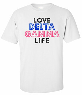 Sorority Love Life T-Shirts