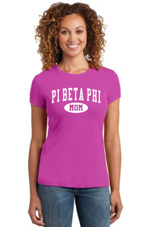 Sorority Mom Ribbed Tee