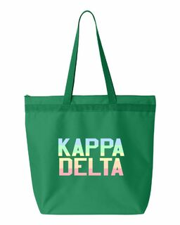 Sorority Pastel Tote Bag