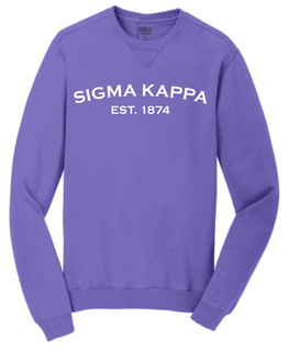 Sorority Pigment-Dyed Crewneck Sweatshirt