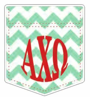 Sorority Pocket Decal