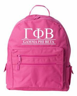Sorority Recycled Backpack