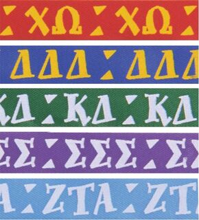 Sorority Ribbons