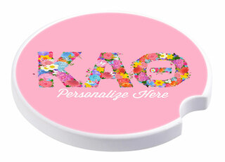 Sorority Sandstone Car Cup Holder Coaster
