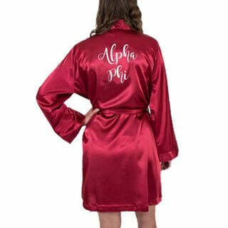 Sorority Satin Robe - Limited Quantity