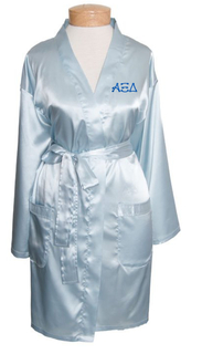 Sorority Short Satin Robe