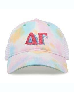 Sorority Sorbet Tie Dyed Twill Hat