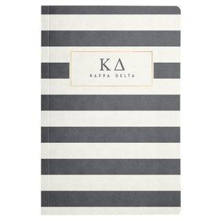 Sorority Striped Notebooks