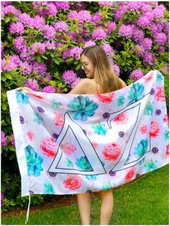 Sorority Succulent Flag