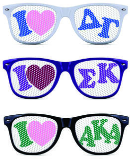 Sorority Sunglasses Fraternity Sunglasses