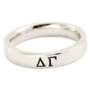 Sorority Thin Band Ring