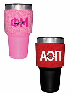 Sorority Yeti Rambler Bottle Insulator