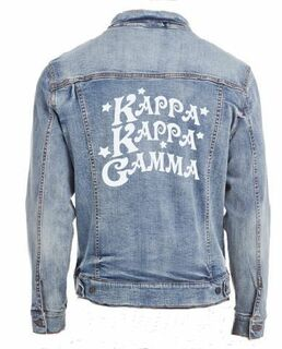 Star Struck Sorority Denim Jacket