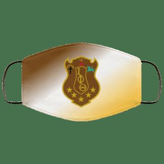 Super Crest Fraternity Face Mask