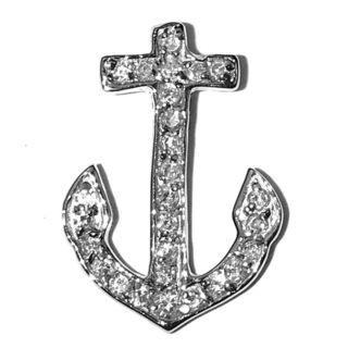 Super savings Delta Gamma anchor pendant