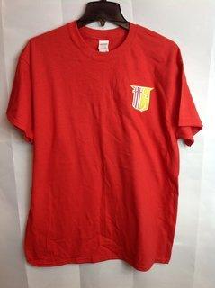 Super Savings - Theta Chi Crest - Shield Shirt - Red