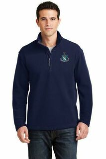 DISCOUNT-Tall 1/4-Zip Greek Sweatshirt