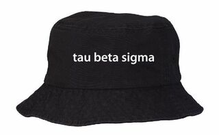 Tau Beta Sigma Bucket Hat