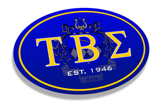 Tau Beta Sigma Color Oval Decal