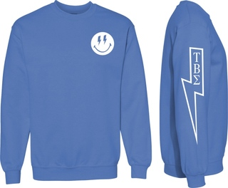 Tau Beta Sigma Comfort Colors Lightning Crew Sweatshirt