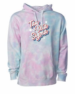 Tau Beta Sigma Cotton Candy Tie-Dyed Hoodie
