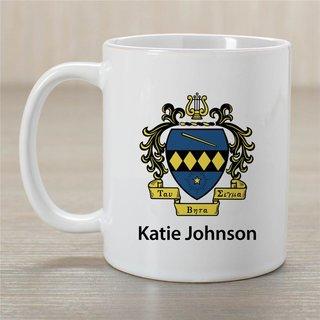 Tau Beta Sigma Crest Coffee Mug - Personalized!