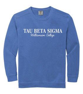 Tau Beta Sigma Custom Comfort Colors Greek Crewneck Sweatshirt