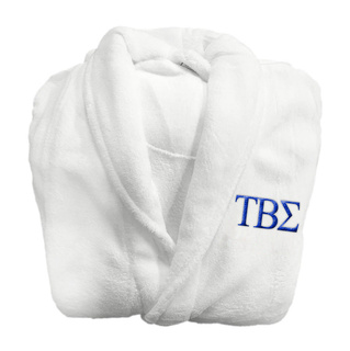 Tau Beta Sigma Lettered Bathrobe