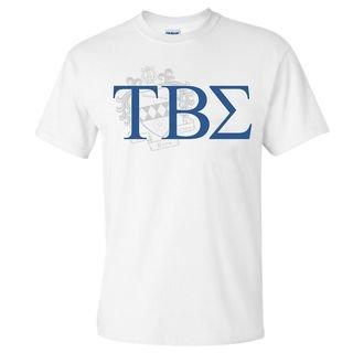 Tau Beta Sigma Greek Crest - Shield T-Shirt