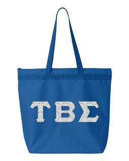 Tau Beta Sigma Greek Letter Liberty Bag