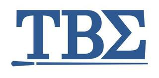 Tau Beta Sigma Greek Letter Window Sticker Decal