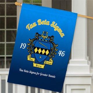 Tau Beta Sigma House Flag