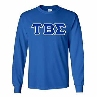 Tau Beta Sigma Lettered Long Sleeve Shirt
