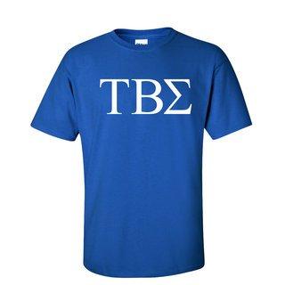 Tau Beta Sigma Lettered Tee - $9.95!