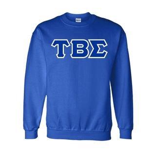 Tau Beta Sigma Sewn Lettered Crewneck Sweatshirt