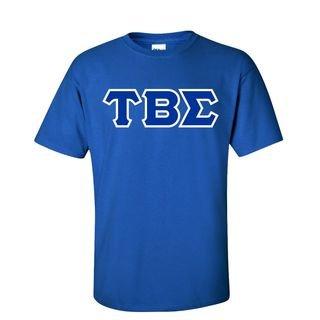 Tau Beta Sigma Sewn Lettered T-Shirt