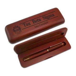 Tau Beta Sigma Wooden Pen Set