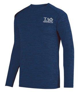 Tau Delta Phi- $20 World Famous Dry Fit Tonal Long Sleeve Tee