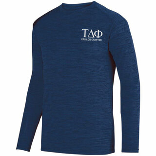 Tau Delta Phi- $26.95 World Famous Dry Fit Tonal Long Sleeve Tee