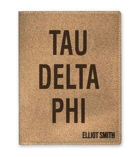 Tau Delta Phi Cork Portfolio with Notepad