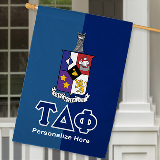 Tau Delta Phi Crest House Flag