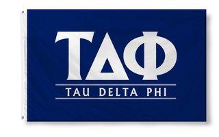 Tau Delta Phi Custom Line Flag