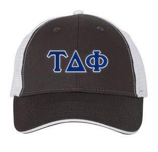 Tau Delta Phi Double Greek Trucker Cap