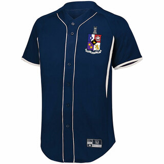 Tau Delta Phi Game 7 Full-Button Baseball Jersey