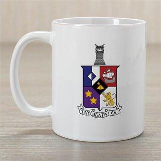Tau Delta Phi Greek Crest Coffee Mug