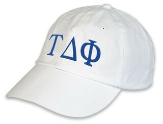 Tau Delta Phi Greek hat