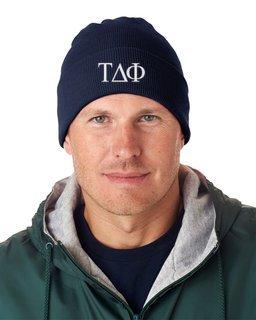 Tau Delta Phi Greek Letter Knit Cap