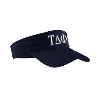 Tau Delta Phi Greek Letter Visor