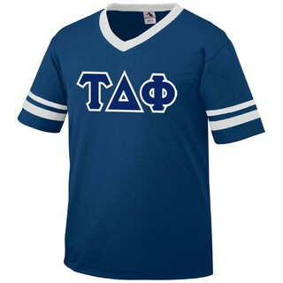DISCOUNT-Tau Delta Phi Jersey With Custom Sleeves